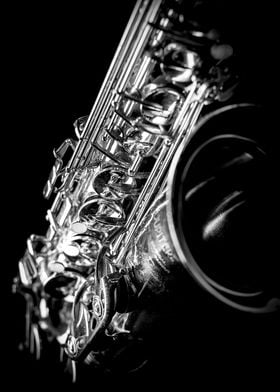 Saxophone close-up. Photography: matteo mescalchin. Sho ...