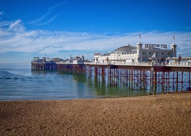 Brighton Pier, England originates from 1823 when it was ...