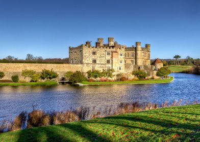 Originally built in 1119 Leeds Castle is situated in Ke ...