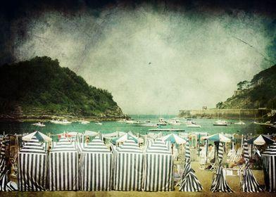 This was taken at Playa de la Concha, in San Sebastian, ...