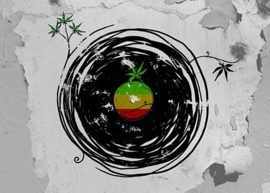 Reggae Music and Peace - Vinyl Records, Weed - Cool Ret ...