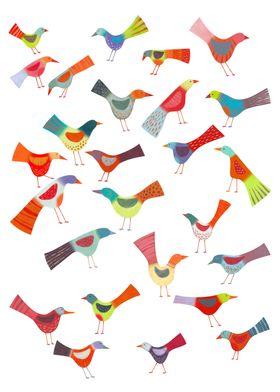 Birds Doing Bird Things