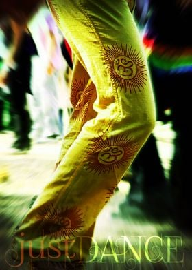 legs dancing at outdoors festival ~ just dance