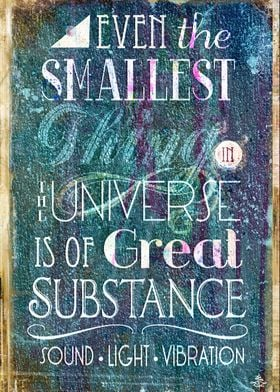 Substance - Earth Lifts Sky - TypoGrafik ChiTree 'Quote ...