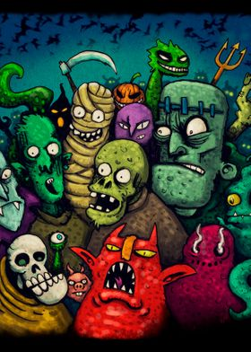 Monsters party