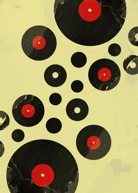 I am a huge vinyl record's fan! In this artwork I aim t ...