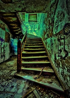Old Abandoned Hospital in Staten Island New York