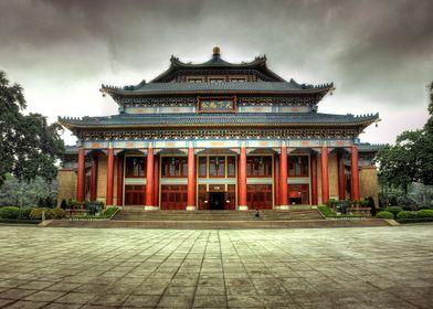 The Sun Yat Sen memorial hall in Guangzhou, China.