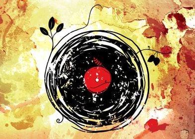 Enchanting Vinyl Records Grunge - I hope you like it  = ...
