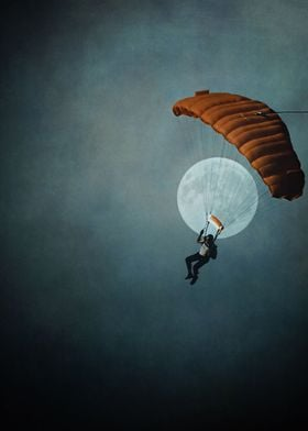 Skydiver's Moon...