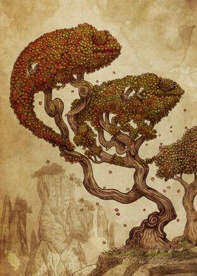 Autumn Chameleons