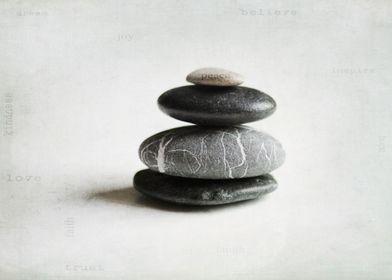 stacked balancing rocks