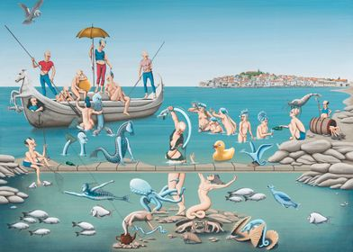 "Title: ""Sea nymphs""- 2013 Even the ancient Romans, Gre ..."