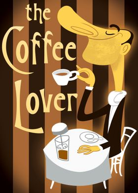 Create a poster for a Coffee Lover