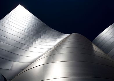 This is Walt Disney Concert Hall in L.A