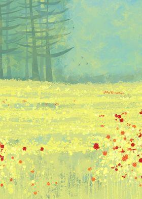 Meadow near Périgeuex