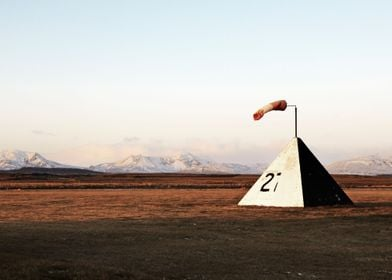 Remote landing in Iceland