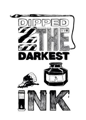 the dankest ink for the darkest lines