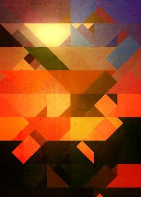 Retro Triangle and Texture