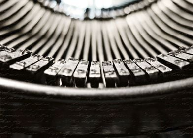 """words"":  vintage 1920s L.C. Smith typewriter"