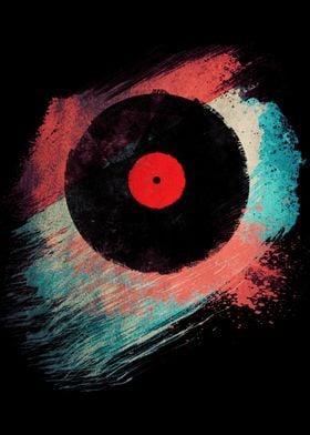 Retro Vinyl Record - I hope you like it. =)