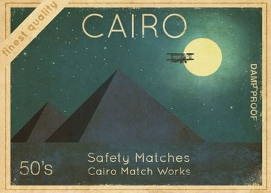 Cairo Safety Matches