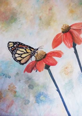 A commissioned painting now available on metal prints!  ...