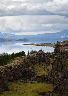 at Þingvellir Iceland