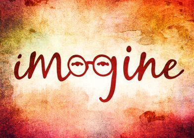 Imagine - John Lennon Tribute - New Grunge Textures