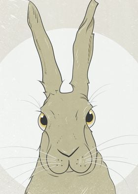 Part of an ongoing series of illustrations of hares on  ...