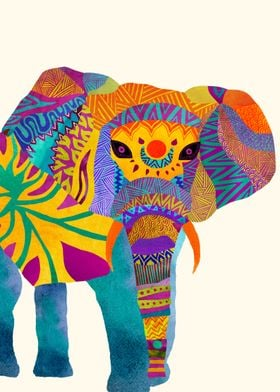 """""""Whimsical Elephant"""""""