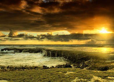 Monfort's Beach, Victoria. Australia