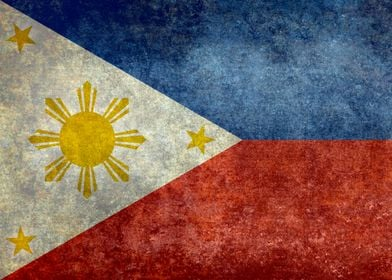 Republic of the Philippines national flag (50% of commi ...