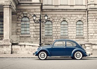 retro VW Beetle