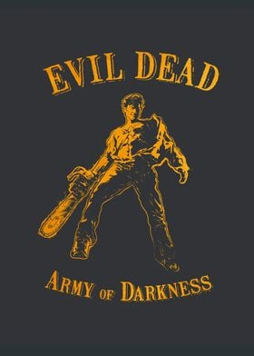 Ash from Evil Dead Army Of Darkness, vector Illustratio ...