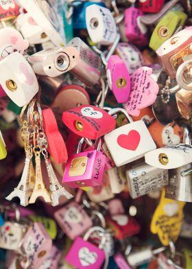 """""""What the world needs..."""" Love locks."""