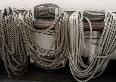 Ropes on a Sailing Vessel.