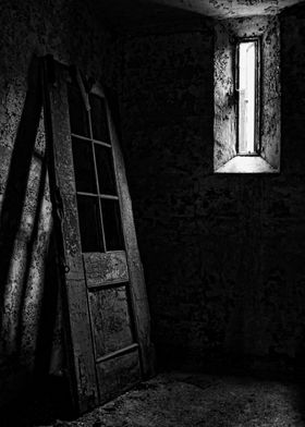 A cell at the Eastern State Penitentiary, Philadelphia, ...