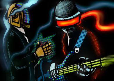 I love Daft Punk