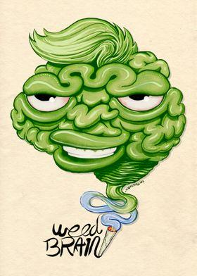 Weed brain