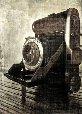 1950 Baldinette camera, made by the Balda Bunde Company ...