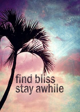 Find Bliss