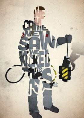 Peter Venkman - Ghostbusters.