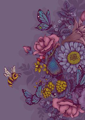 beauty - in violet