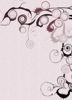 Pink Swirls And Twirls ~ Pink and black swirls and twir ...