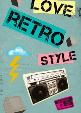 Retro Collection -- Love Retro Style
