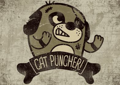 CAT PUNCHER PUNCHES CAT!