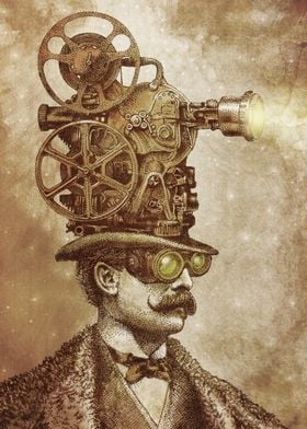 The Projectionist (sepia option)