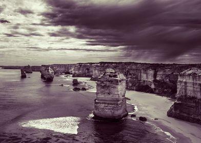 Sentinals The Twelve Apostles, Great Ocean Road, Victo ...