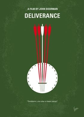 No020 My Deliverance minimal movie poster Intent on se ...